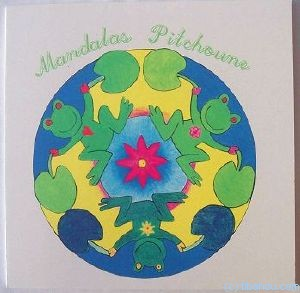 "Coloriages Mandalas ""Pitchoune"" en papier recyclé"