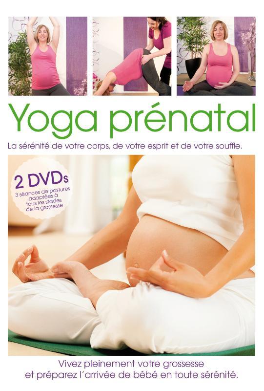 yoga pr natal dvd de yoga adapt la grossesse. Black Bedroom Furniture Sets. Home Design Ideas