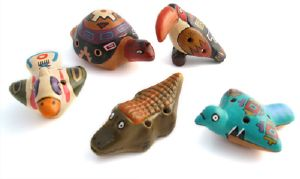 Ocarina en forme d'animal